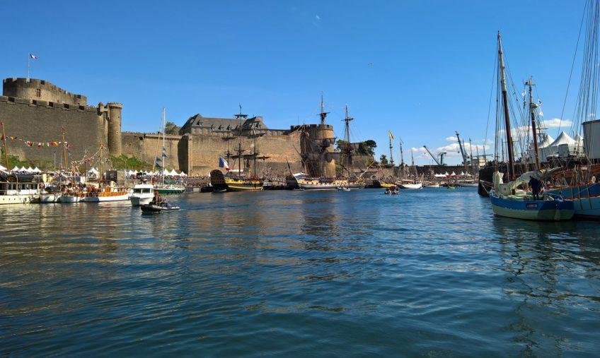 port du chateau brest