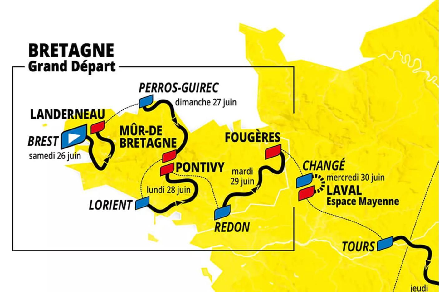 Tour de france 2021 BRETAGNE