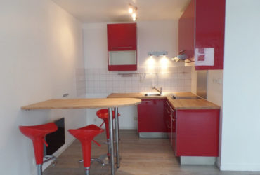 A LOUER BREST KERINOU APPARTEMENT T1 BIS 36.02 m² PARKING