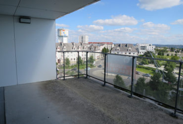 A LOUER BREST PLACE DE STRASBOURG APPARTEMENT T3 63.18 m² RESIDENCE BBC ASCENSEUR TERRASSE PARKING