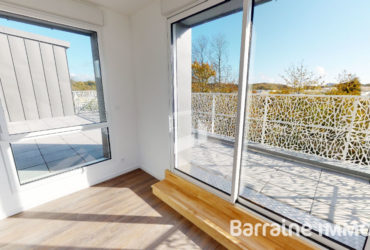 A VENDRE   GUIPAVAS   APPARTEMENT T5   130m²   DERNIER ETAGE   TERRASSE   ASCENSEUR    PARKING PRIVATIF